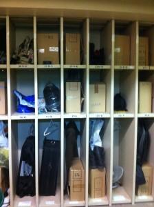 """Le """"vestiaire"""" où sont rangées les affaires que les personnes détenues ne peuvent garder en détention. Photo: CGLPL"""